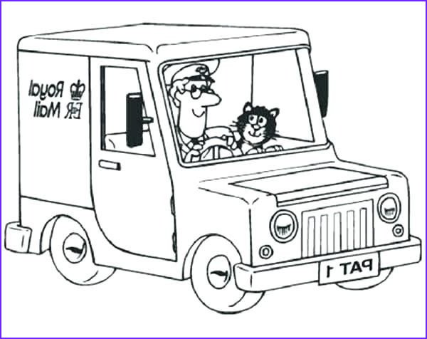 Free Coloring Books by Mail Inspirational Images Postman Pat Colouring Sheets