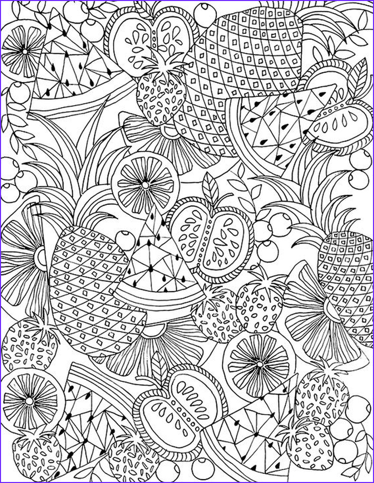 Free Coloring Books for Adults Beautiful Photos 20 Free Printable Summer Coloring Pages for Adults