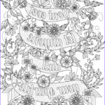 Free Coloring Page Com Best Of Image Free Inspirational Quote Adult Coloring Book Image From