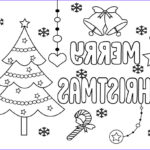 Free Coloring Pages.com Beautiful Image Free Printable Merry Christmas Coloring Pages For Kids