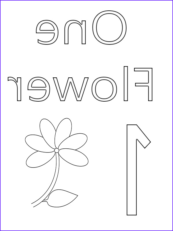 top 10 number 1 coloring page