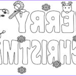 Free Coloring Pages.com Inspirational Stock Free Printable Merry Christmas Coloring Pages For Kids
