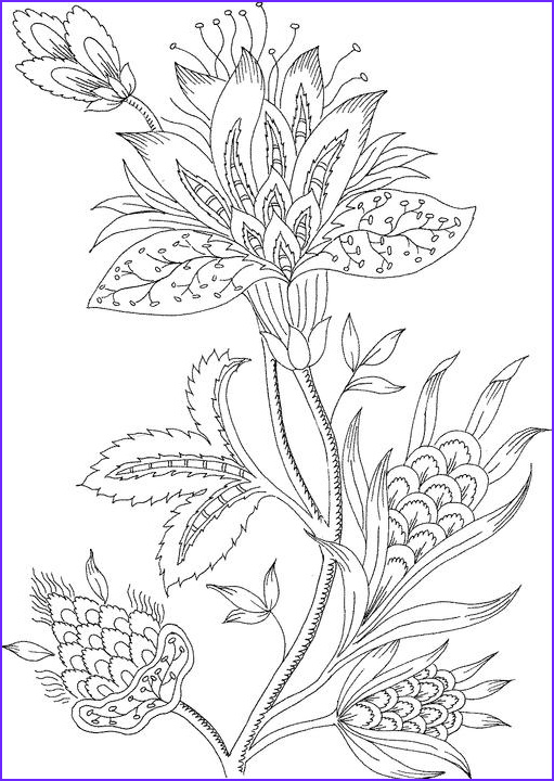Free Coloring Pages for Adults Flowers Cool Stock Free Coloring Pages for Adults