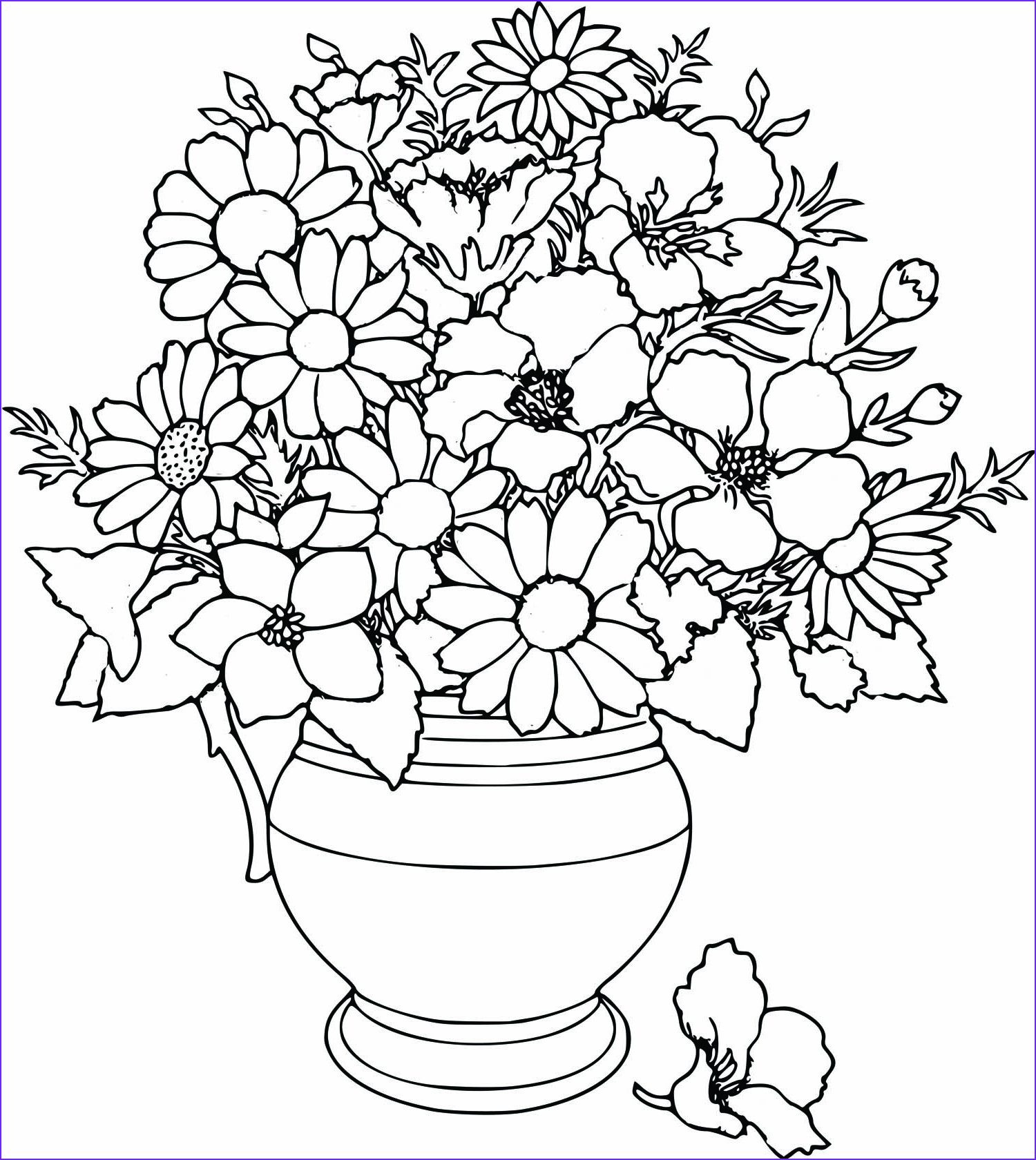 Free Coloring Pages for Adults Flowers Unique Photography La Petite Fleur