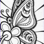 Free Coloring Pages For Adults Printable Awesome Image Free Printable Butterfly Coloring Pages For Kids
