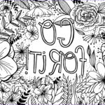Free Coloring Pages For Adults Printable Best Of Image Free Encouragement Coloring Page Printable
