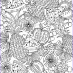 Free Coloring Pages For Adults Printable Inspirational Image 20 Free Printable Summer Coloring Pages For Adults