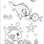 Free Coloring Pages For Preschoolers Awesome Photos Fish Coloring Pages For Preschool Preschool And Kindergarten