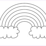 Free Coloring Pages For Preschoolers Elegant Collection Rainbow Coloring Pages