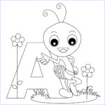 Free Coloring Pages For Preschoolers Elegant Image Free Printable Alphabet Coloring Pages For Kids Best