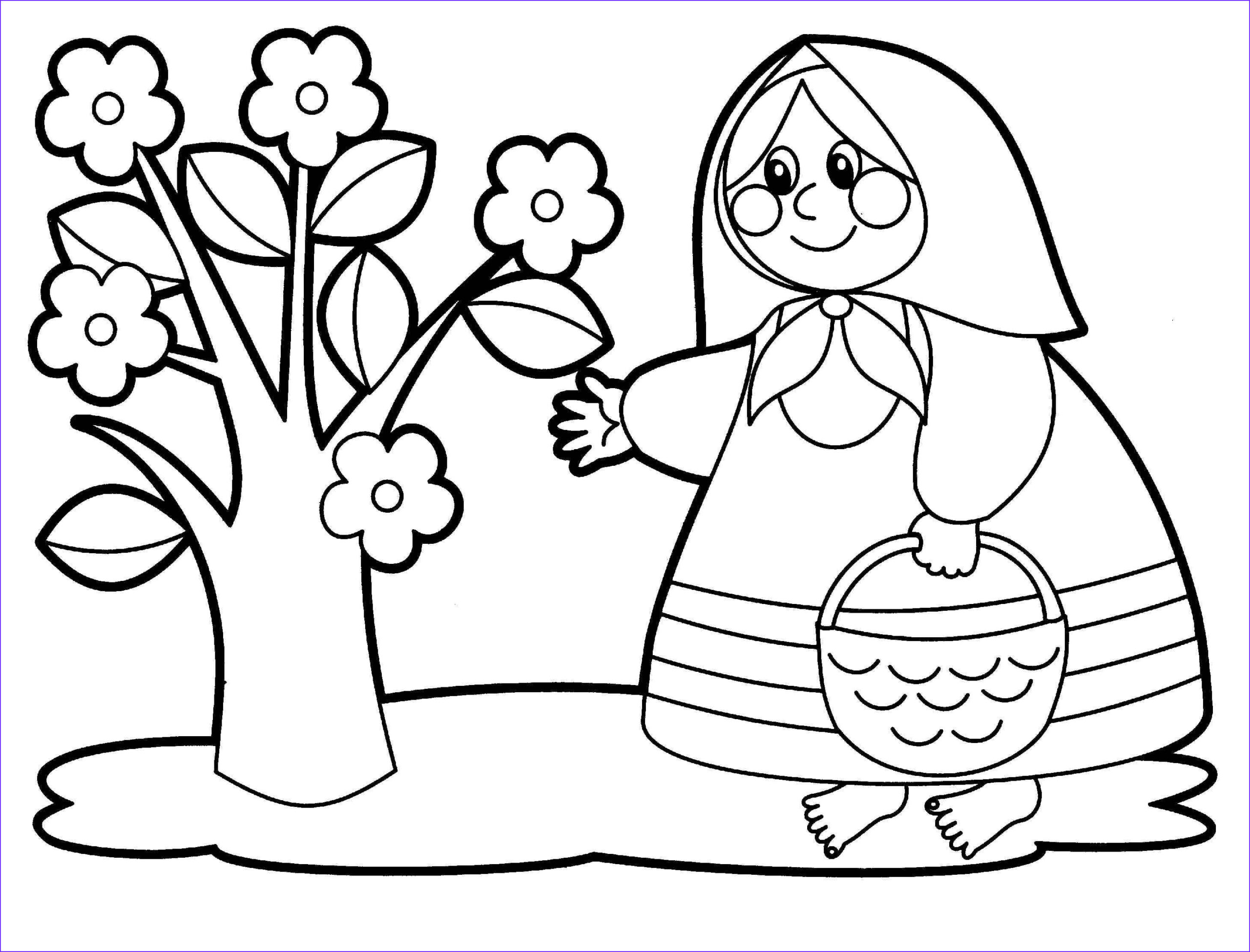 coloring pages children 4 5 years