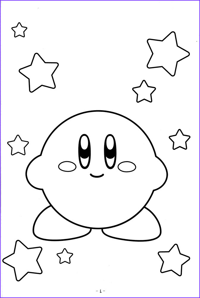 Free Coloring Pictures.com Awesome Collection Free Printable Kirby Coloring Pages for Kids