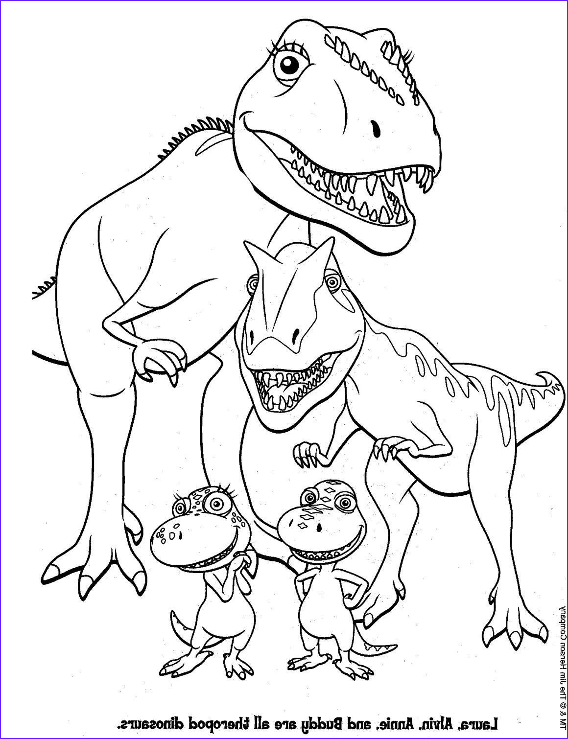 free dinosaur printable coloring pages