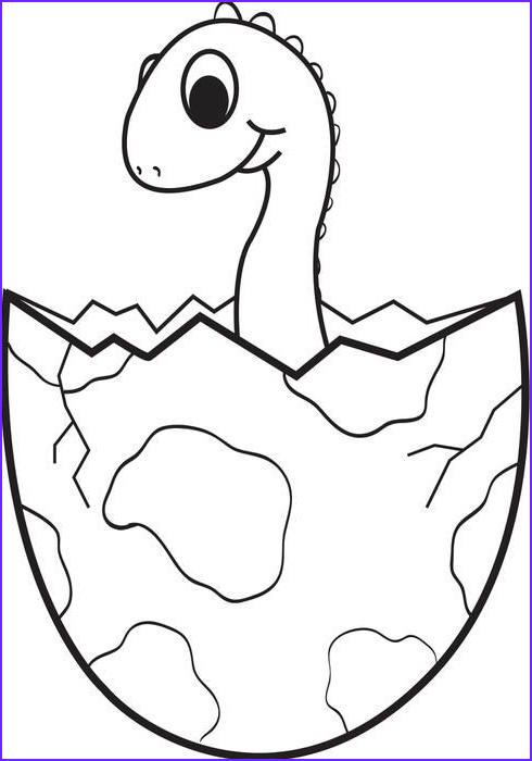 Free Dinosaur Coloring Pages Best Of Photos Cartoon Baby Dinosaur Coloring Page