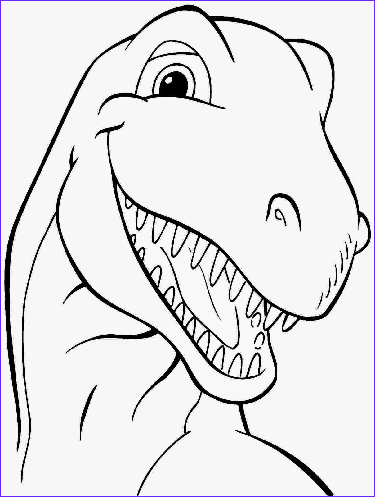 dinosaur free printable coloring pages