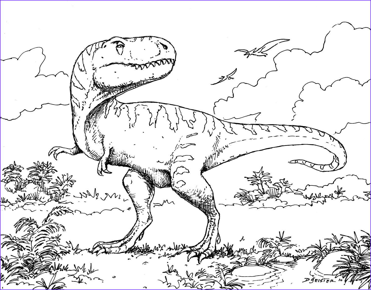 Free Dinosaur Coloring Pages Luxury Stock Extinct Animals 36 Printable Dinosaur Coloring Pages