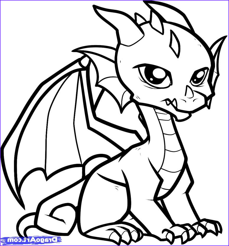 Free Dragon Coloring Pages Beautiful Collection Coloring Pages Cute Dragon Coloring Pages Printable