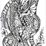 Free Dragon Coloring Pages Cool Photos Dragon Full Of Scales Dragons Adult Coloring Pages