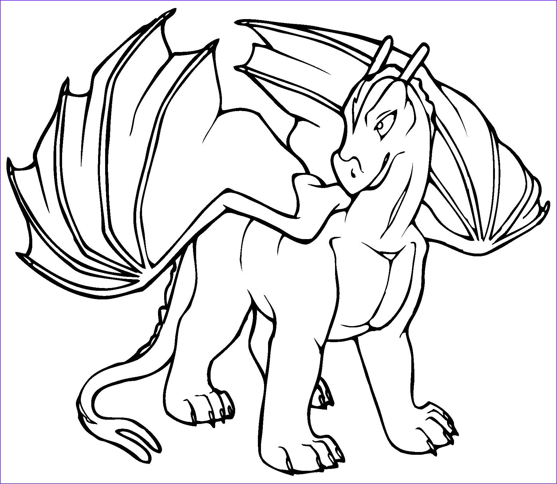 Free Dragon Coloring Pages Cool Photos Free Printable Dragon Coloring Pages for Kids