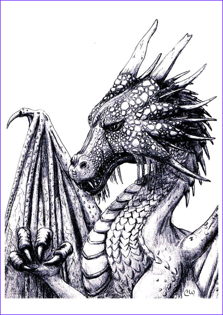 Free Dragon Coloring Pages Cool Photos Pinterest • the World's Catalog Of Ideas