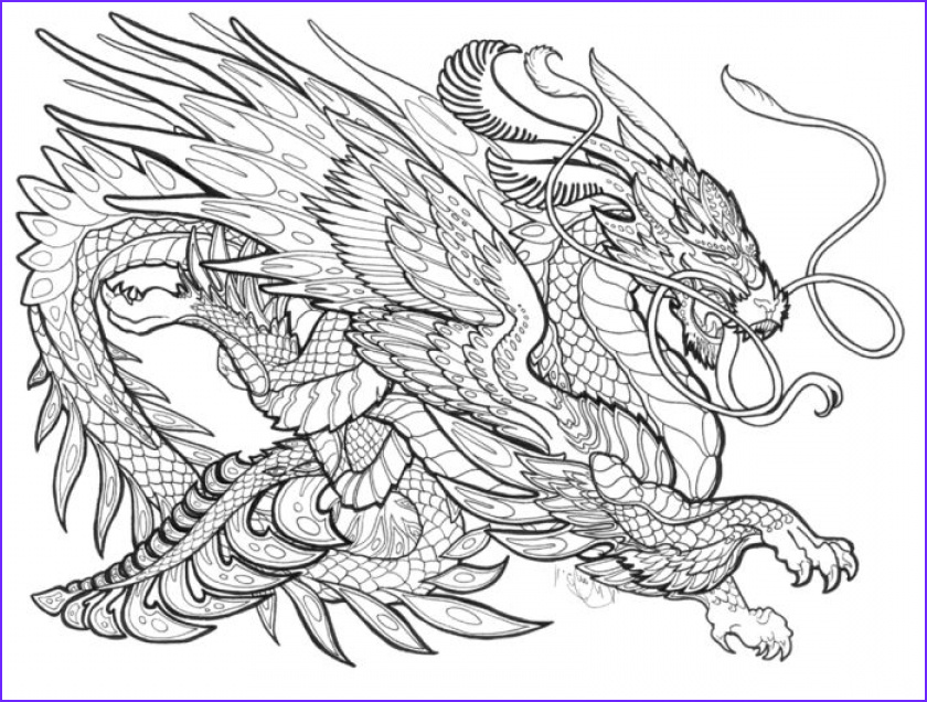Free Dragon Coloring Pages Inspirational Photography Get This Dragon Coloring Pages for Adults Free Printable