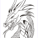Free Dragon Coloring Pages Luxury Image Dragon Head Coloring Page