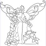 Free Fairy Coloring Pages Beautiful Collection Sad Fairy Coloring Page
