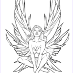 Free Fairy Coloring Pages Beautiful Photos Fairy Coloring Page