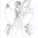 Free Fairy Coloring Pages New Images Free Amy Brown Fairy Coloring Pages