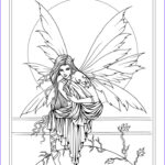 Free Fairy Coloring Pages New Images Free Fairy Coloring Page By Molly Harrison Fantasy Art