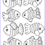 Free Fish Coloring Pages Cool Collection Small Fish Coloring Pages For Kids Title=