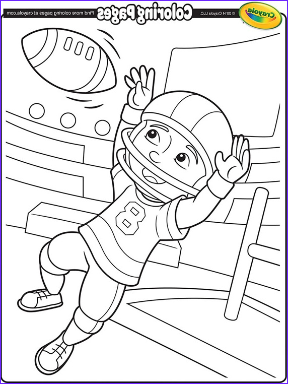 football star coloring page