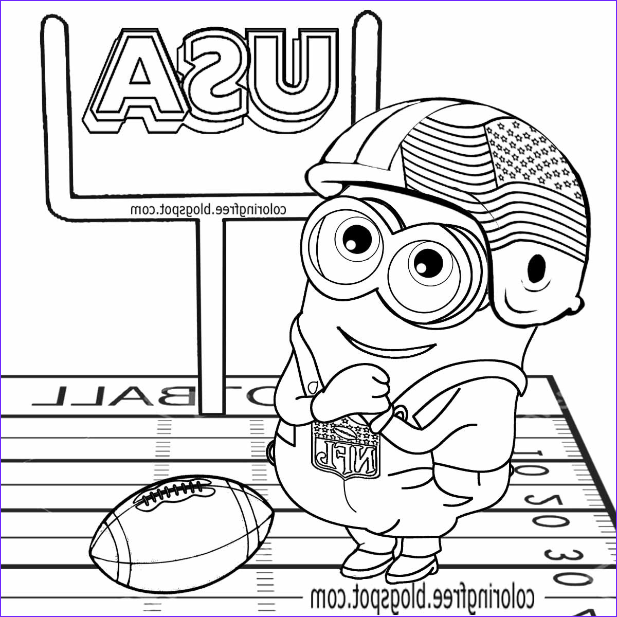 Free Football Coloring Pages Beautiful Photos Free Coloring Pages Printable to Color Kids