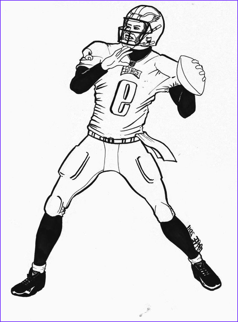 nfl mascot coloring pages