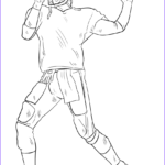 Free Football Coloring Pages Luxury Photos Football Player Coloring Page