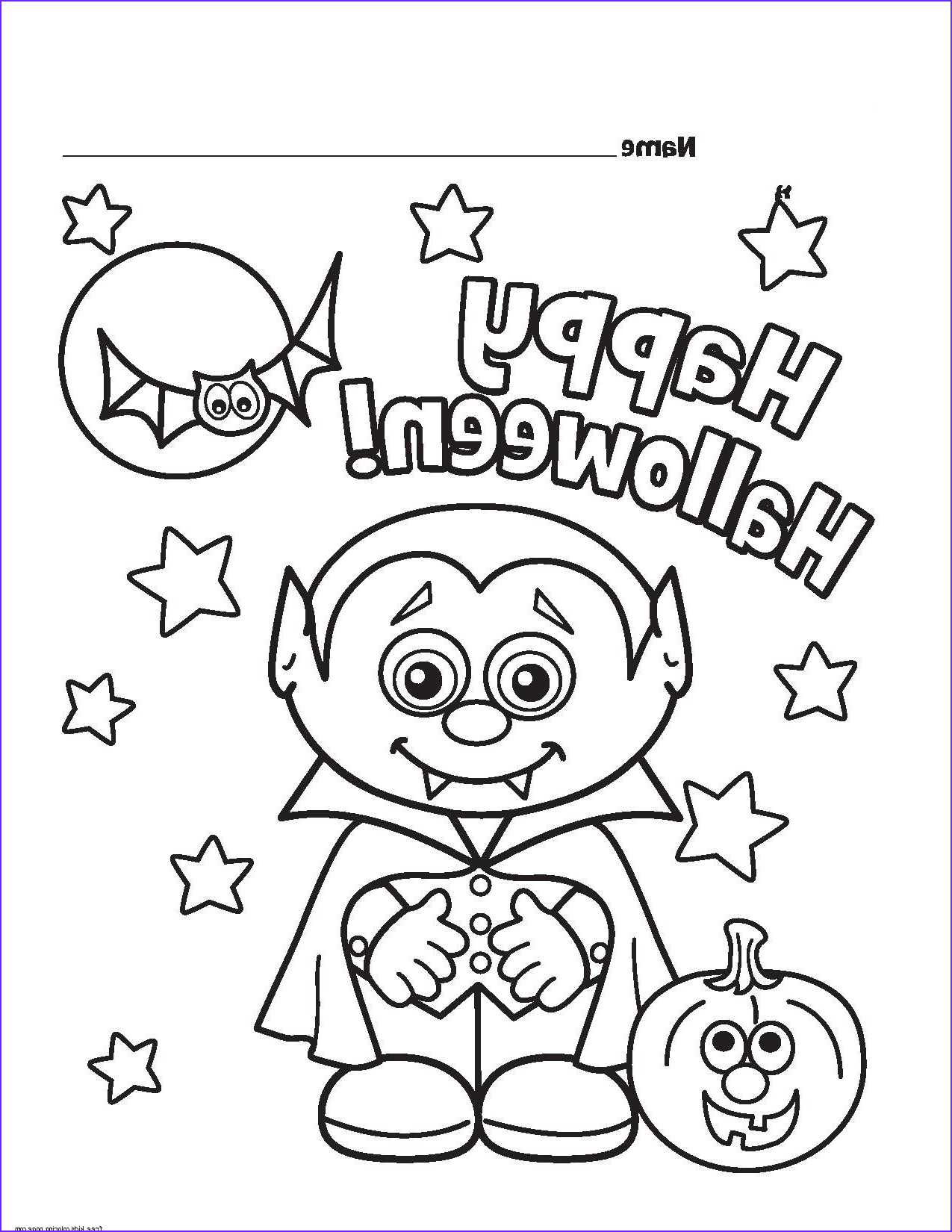 Free Halloween Coloring Pages Awesome Photos Halloween Little Vampire Printable Coloring Pages for
