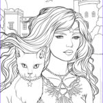 Free Halloween Coloring Pages For Adults Awesome Photos 17 Best Images About Witch Coloring On Pinterest