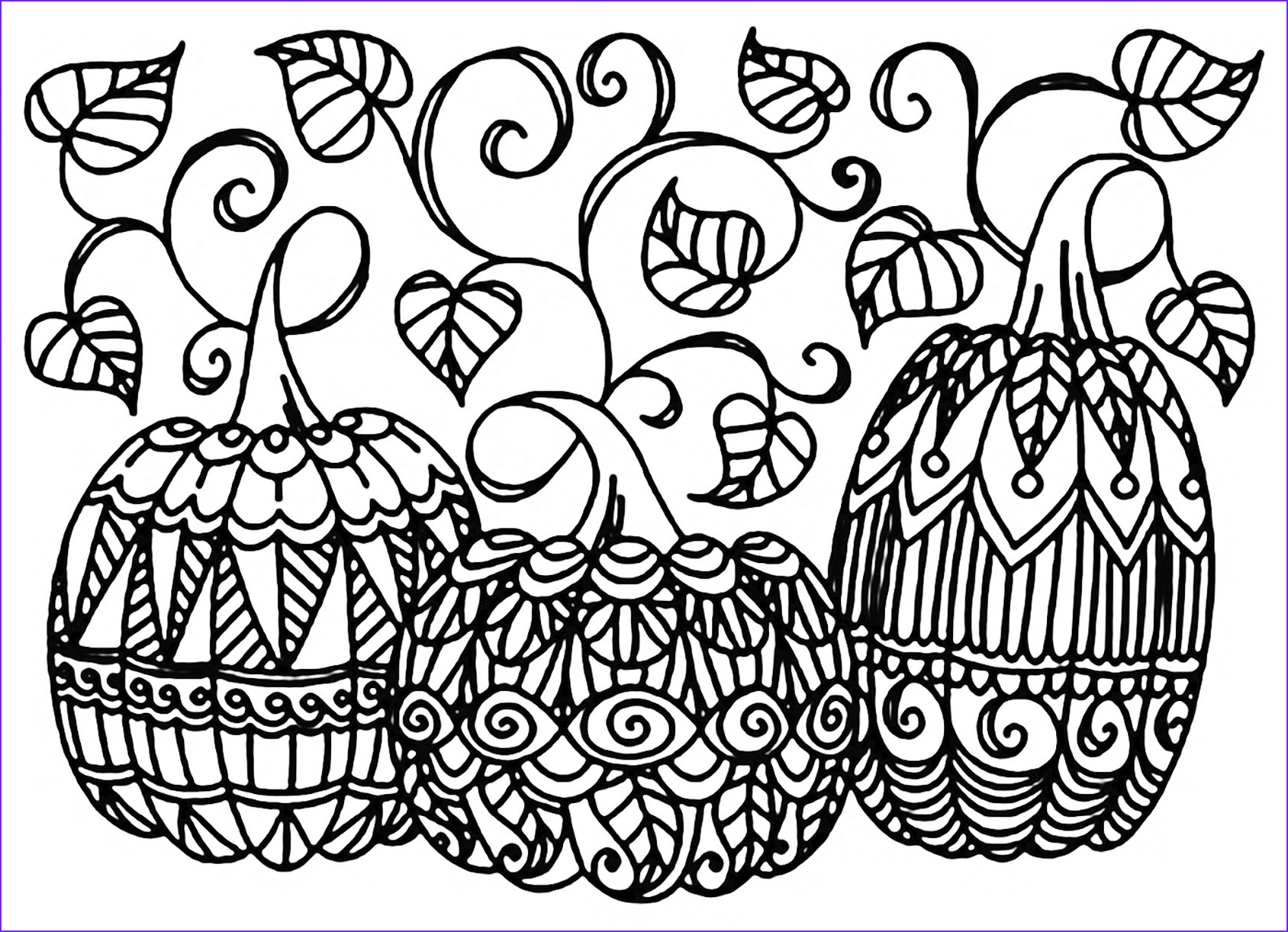 halloween adult coloring pages image=events halloween coloring adult halloween three pumpkins 1