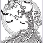 Free Halloween Coloring Pages For Adults Beautiful Photography Halloween Coloring Page