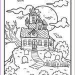 Free Halloween Coloring Pages For Adults Cool Image Free Halloween Coloring Pages For Adults & Kids