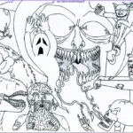 Free Halloween Coloring Pages for Adults Cool Photos Free Printable Halloween Coloring Pages for Adults Best