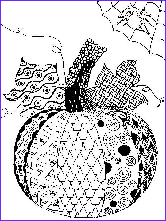Free Halloween Coloring Pages for Adults Inspirational Images Adult Coloring Page Halloween Pumpkin Halloween 5