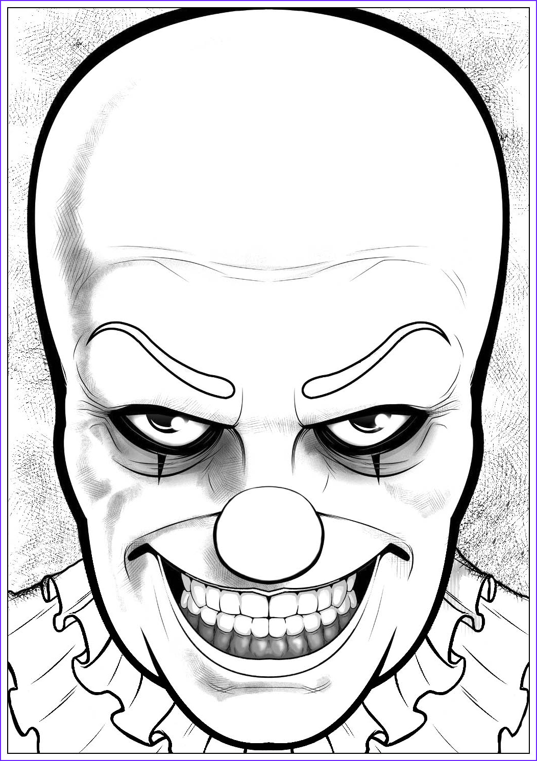 halloween adult coloring pages image=events halloween coloring halloween pennywise it 1