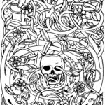 Free Halloween Coloring Pages For Adults Luxury Gallery Halloween Coloring Pages For Adults