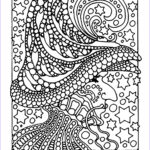 Free Halloween Coloring Pages For Adults New Stock Halloween Witch And Stars Halloween Adult Coloring Pages