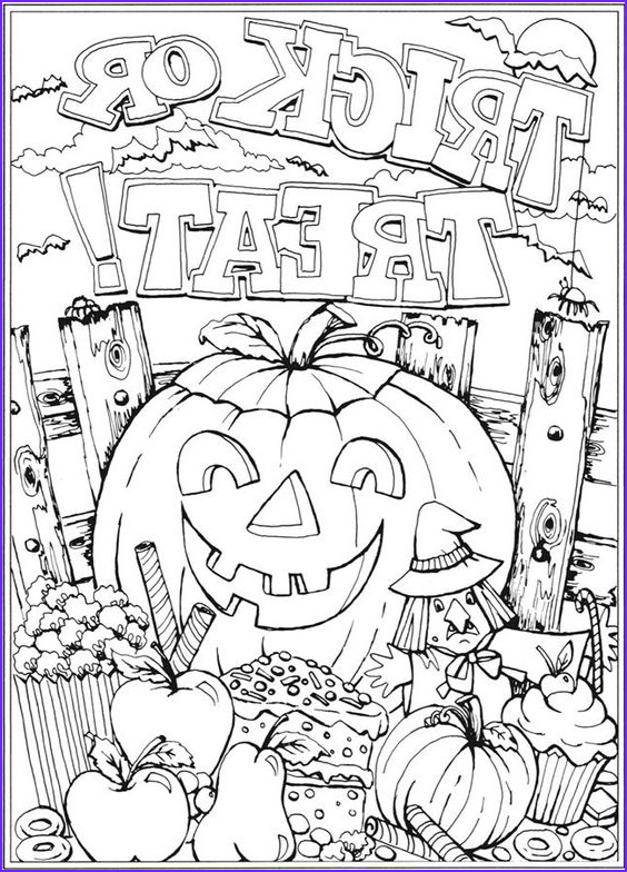 11 halloween coloring pages 2018 for toddlers preschoolers free