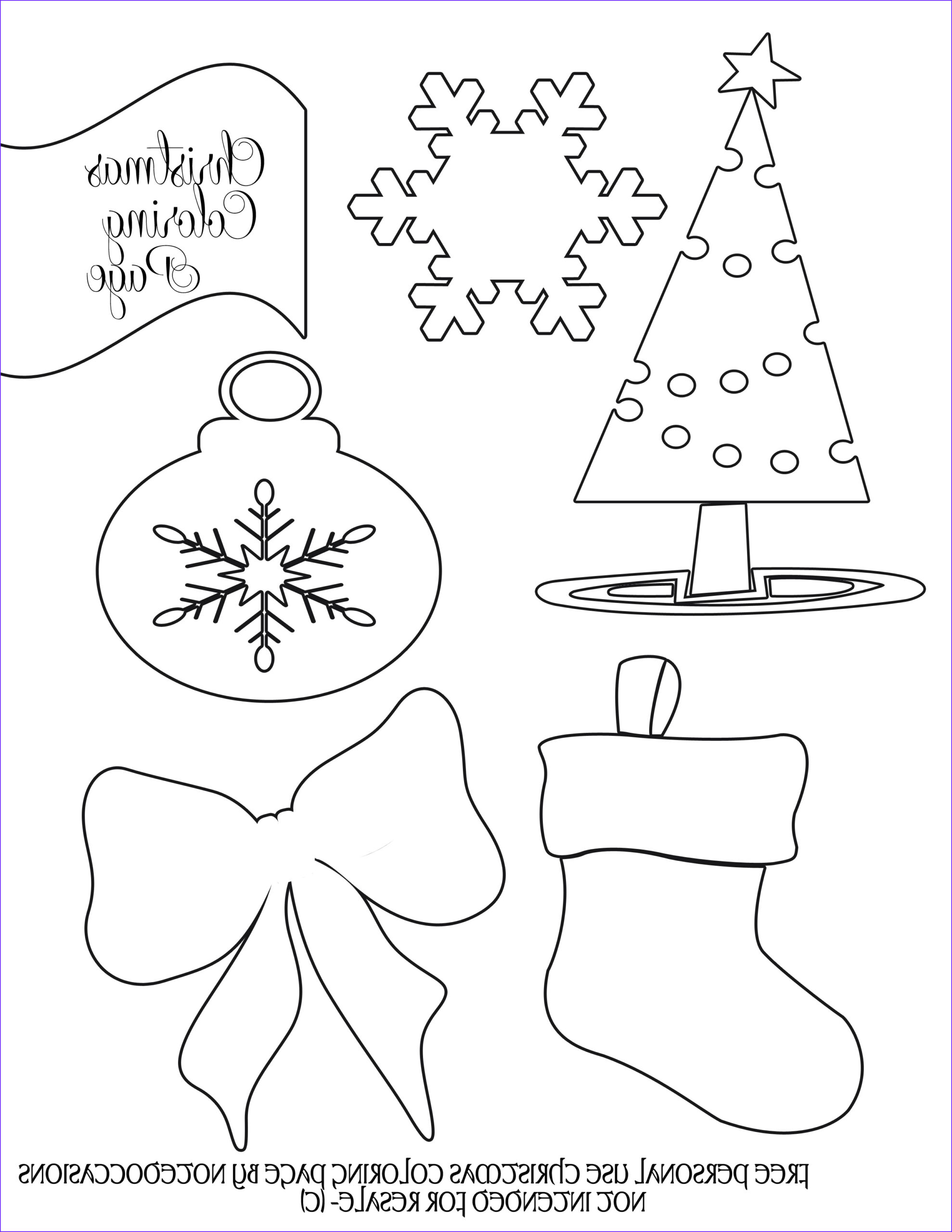 free christmas coloring pages to print for kids