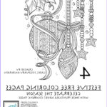 Free Holiday Coloring Pages Luxury Images 4 Festive & Free Holiday Coloring Pages For Adults [pdf