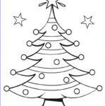 Free Holiday Coloring Pages Unique Photos Free Printable Christmas Tree Coloring Pages For Kids