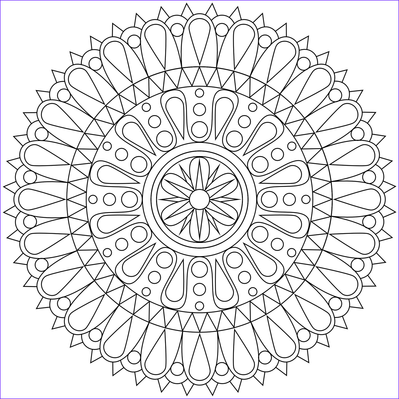 Free Mandala Coloring Pages Elegant Stock Free Printable Geometric Coloring Pages for Kids